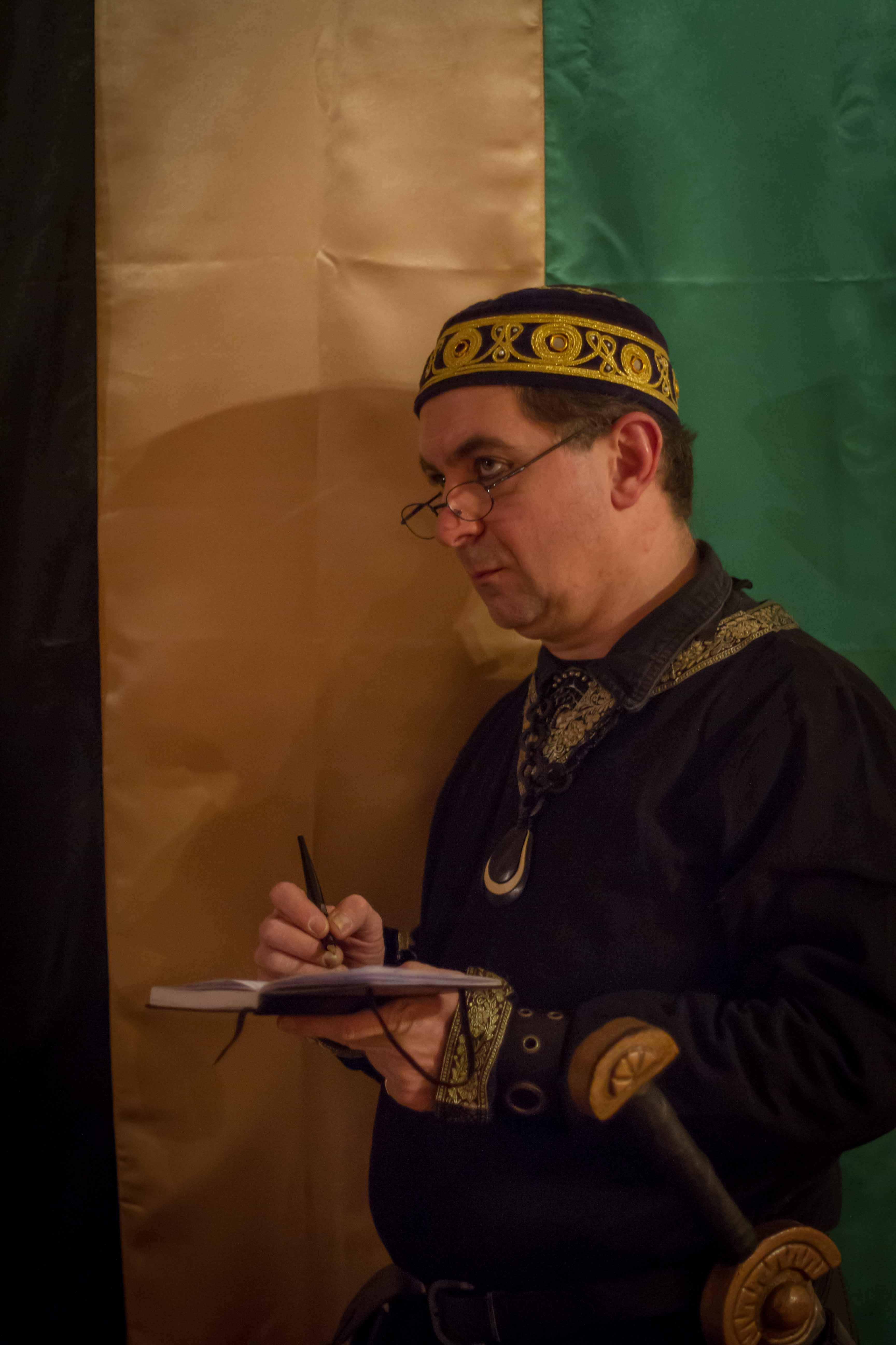 Ras Skarayus Rashidaridjan, der Stratege